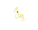 Crystal Halloween Adopt Pony DTA Entry 2 by KitlynSolstice