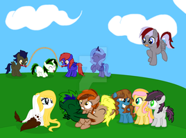 Massive Filly Collab [updated and finished] by pinay4life001