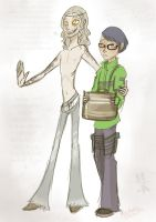 Doodles: Takaya and Jin by Alias-Hugo