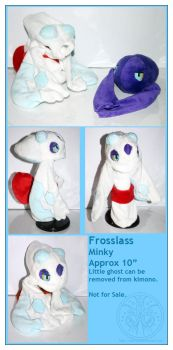 Plush - Frosslass by RadiantGlyph