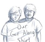 ShinGoro Get Along Shirt by soyrwoo