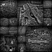 Destruction in the cemetery by Gothicmama