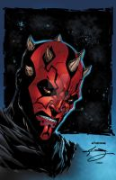 Darth Maul Colors by seanforney