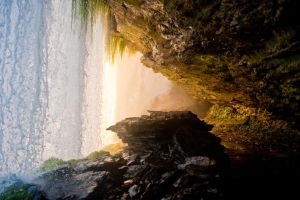 Under the Hacha waterfall 4 by Yupa