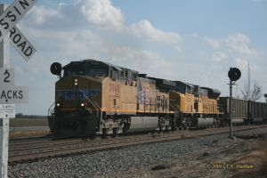 UP 5948 at Asbury Missouri by labrat-78