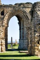 Tynemouth Priory 2 by Robalka