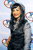 Demi Lovato Display O6 by LarahLoveyou