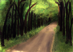 Speedpaint - Forest by Gonna-Go-Far