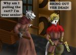 Jer n Hors: Bring out yer dead by Taily
