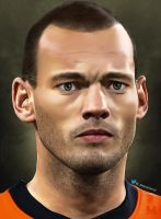 Wesley Sneijder by muraterol