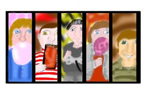 Charlie and Not-So Friends Colored by Darkened-94-Child