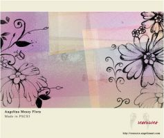 AR - PS Brushes - Messy Flora by AngelinaResource