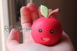 Ringo the apple by theredprincess