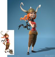 3d Viking by zacretz