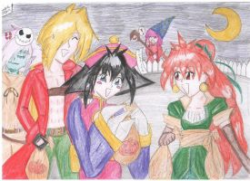 Happy Halloween 2011 by IndyHimura
