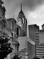 Philadelphia One (Black and White Version) by Kandroid96