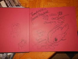 Art of HTTYD signatures by Super3dcow