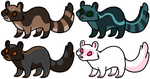 Raccoon Adopts (Name Your Price) by mustluvwolves