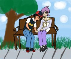 Park Bench by nekusagi-chan