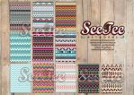 Tribal Tribe Patterns by SeeTeeArtwork