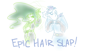EPIC HAIR SLAP! by S-M-Batty