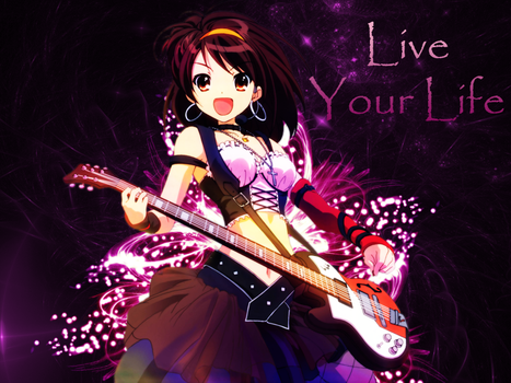 Wallpaper - Live Your Life by snajperpl