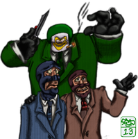 Spies, Spies Everywhere by Ohthehumanityplz