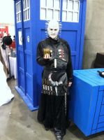 Pinhead cosplay by missmarypotter