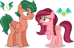 [AU] Timber and Gloriosa by LimeDazzle