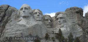 Mt. Rushmore by Lt-Sandstorm