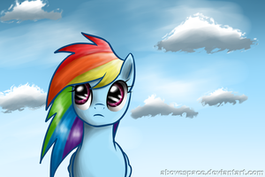 Rainbow Dash by AboveSpace