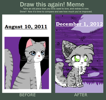Improvement meme by Animerocksthebest