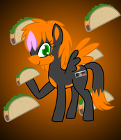 My Little Taco Pony by NezumiYuki