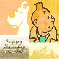 Happy Birthday Tintin by daleknek