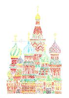 St. Basil's Cathedral by demeters