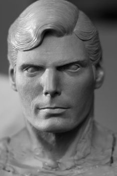 Superman the movie (Christopher Reeve) .45 Statue by Admiral-Mick