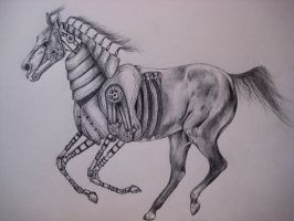 Steampunk Horse by Helenr251