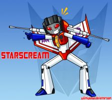 Starscream by YukiMiyasawa