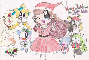 Merry Christmas from Kate and Co by RussellMimeLover2009