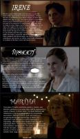 Name Analyses: Ladies Edition by MlleRevenant