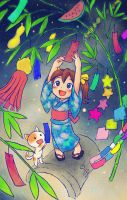 Tanabata Festival by oi-chan