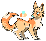 Wolf adopt [CLOSED] by TangerineAdopts