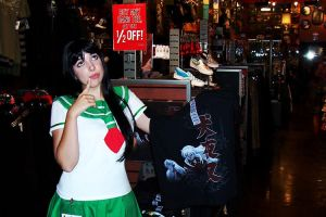 Kagome in Hot Topic by QueenOfTheCute