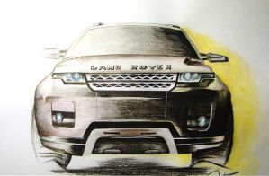 Land Rover by Zaidza