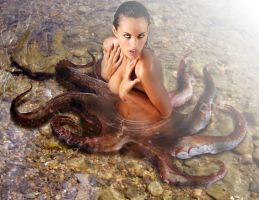 Octopus Mermaid II By Fueledby by FueledbypartII
