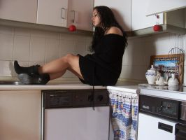 Kitchen. by Siera2-Stock