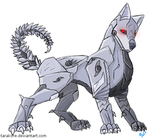 [Request] Cyborg Canine by Tarakore