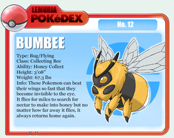 No.12 Bumbee by Sakuyamon