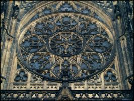 St. Vitus Cathedral Tracery by AnalyzerCro