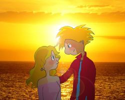 HA Sunset With You by Rei-Hikaru